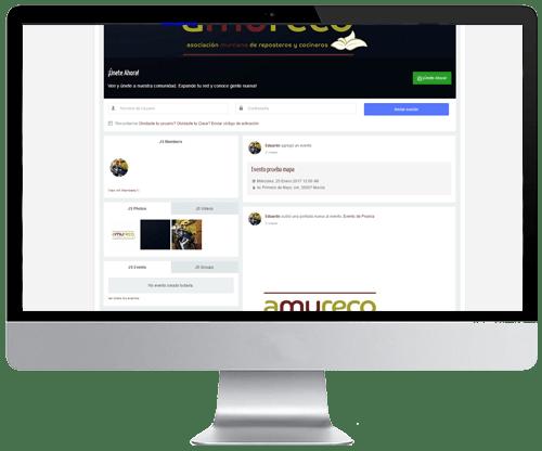 Web para comunidades, asociaciones, clubs en Murcia
