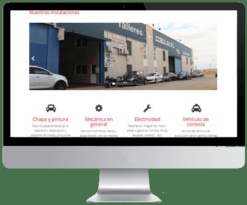Web para compra venta de vehículos y talleres en Murcia