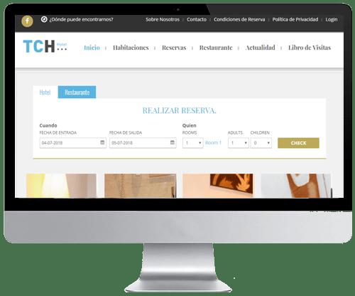 Web con aplicación específica para alojamientos en Murcia